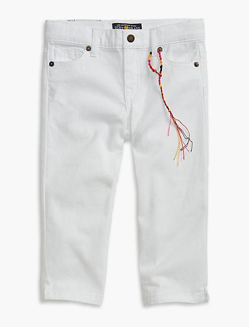 ZOE CAPRI PANT, OPEN WHITE/NATURAL