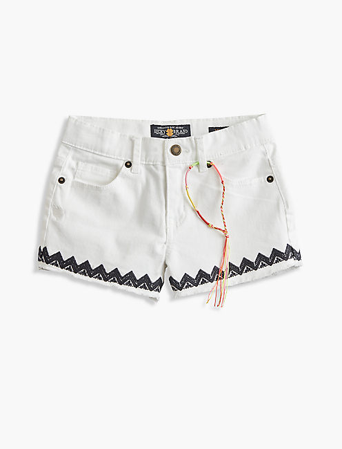 RILEY SHORT, WHITE