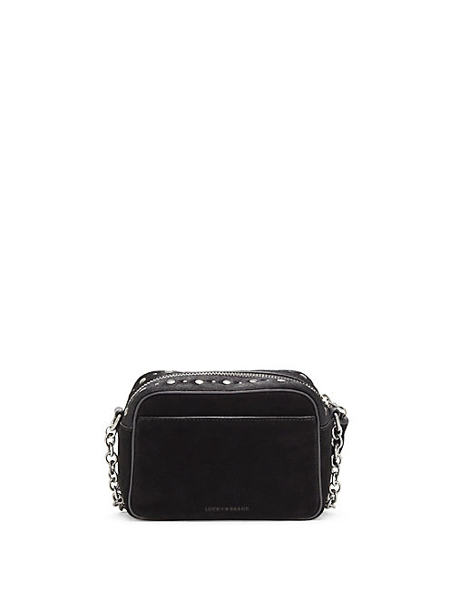 Lucky Anna Haircalf Crossbody Bag