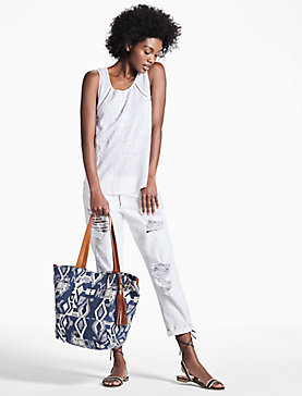 COVE FABRIC TOTE