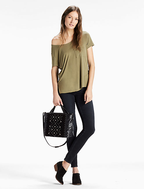 Lucky Darby Studded Tote