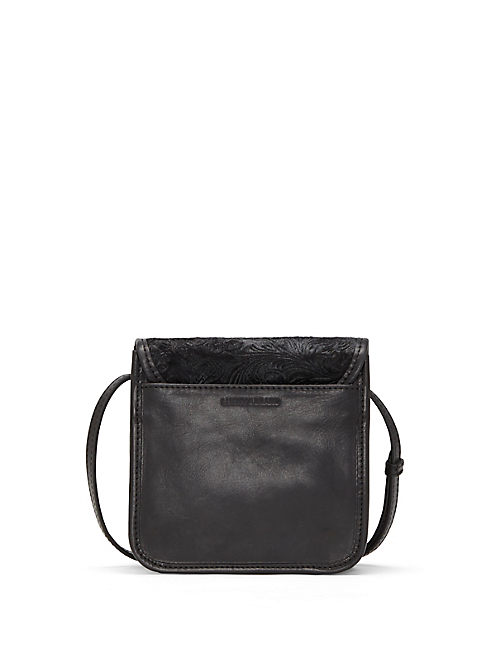 Lucky Rose Haircalf Small Crossbody