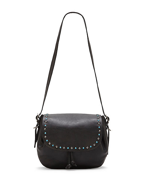 ZOE SHOULDER BAG, BLACK