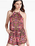TAPESTRY HIGH NECK ROMPER,