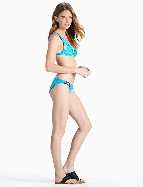Lucky Batik Chic Reversible Bikini Top
