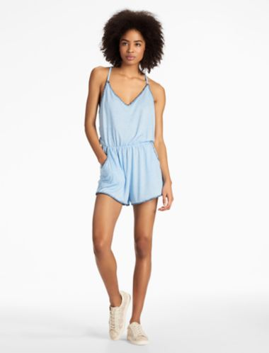 Lucky Sucker For Pretty Romper