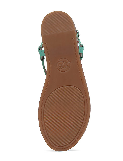 ABELL SANDAL, LIGHT GREEN