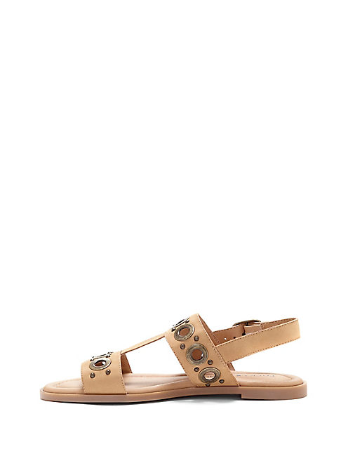 ANSEL SANDAL, MEDIUM LIGHT BEIGE