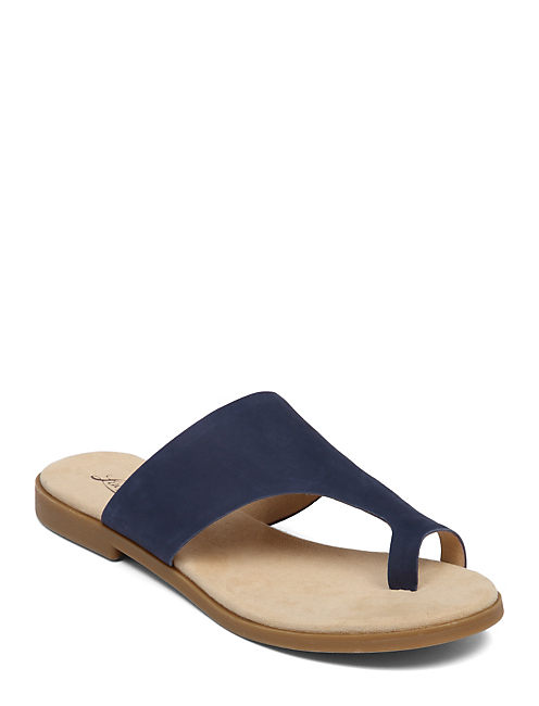 ASTORR FLAT SLIDE, OPEN BLUE/TURQUOISE