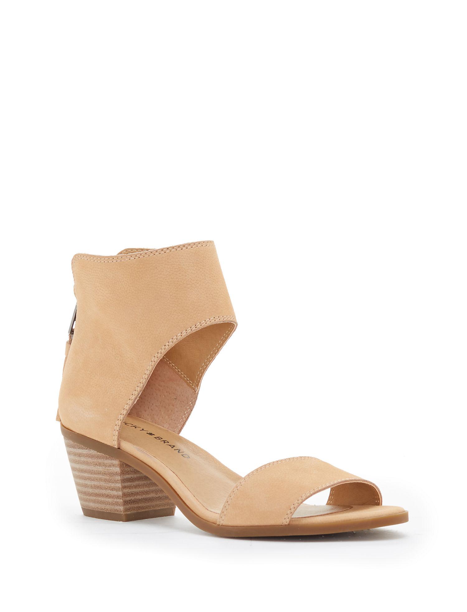 Black earth sandals - Lucky Barbina Heel