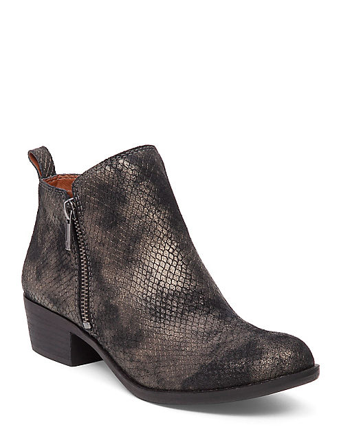 BASEL FLAT BOOTIE, TAPESTRY