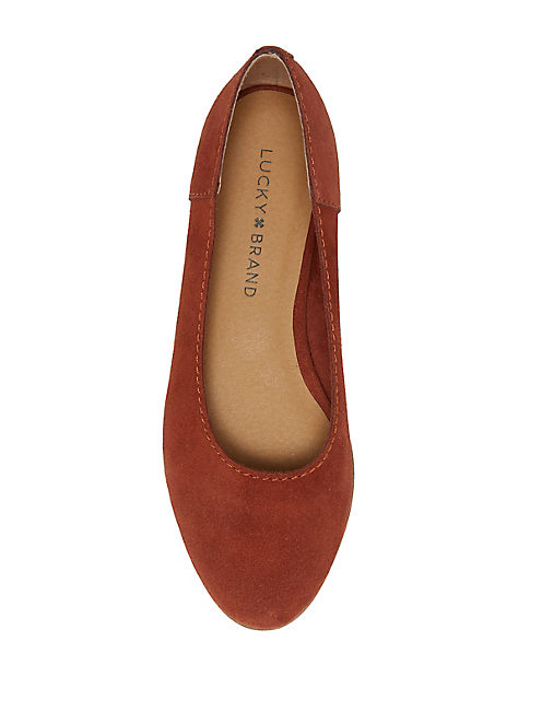 CALANDRA FLAT, MEDIUM DARK RED