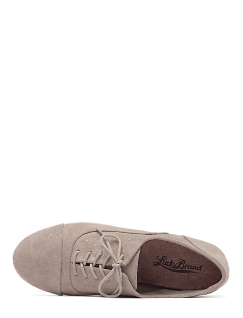 DAVIE OXFORDS, OPEN GREY