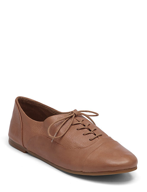 DAVIE OXFORDS, OPEN BROWN/RUST