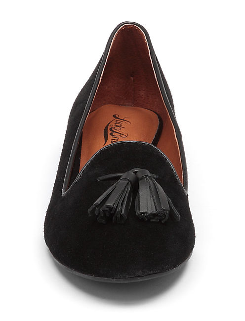 DOLCE SMOKING SLIPPERS, BLACK