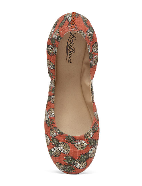 EMMIE FLATS, OPEN RED