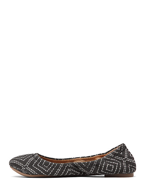 EMMIE FLATS, DOTTED DIAMOND