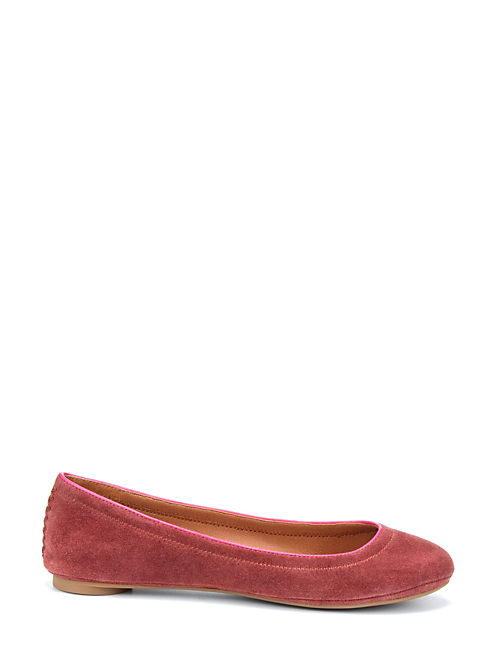 ERMINE FLATS, DARK RED