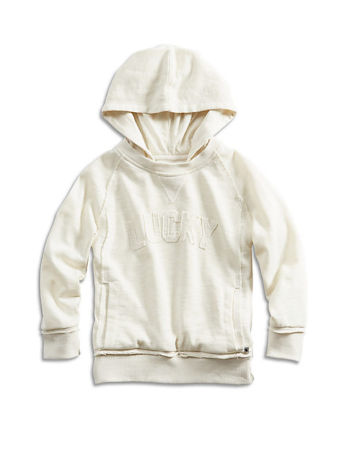 ROCKER HOODY, LIGHT BEIGE
