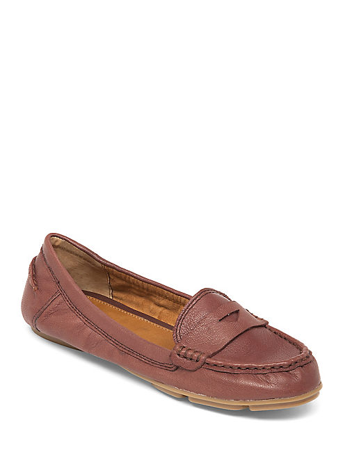 FEVERTON MOCASSIN FLAT, OXBLOOD