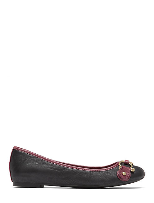 FREEDA FLATS, LIGHT RED