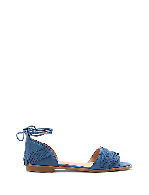 GELSO SANDAL, OPEN BLUE/TURQUOISE