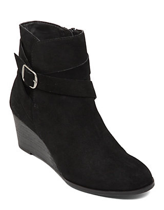 LUCKY GINNIE WEDGE BOOTIE