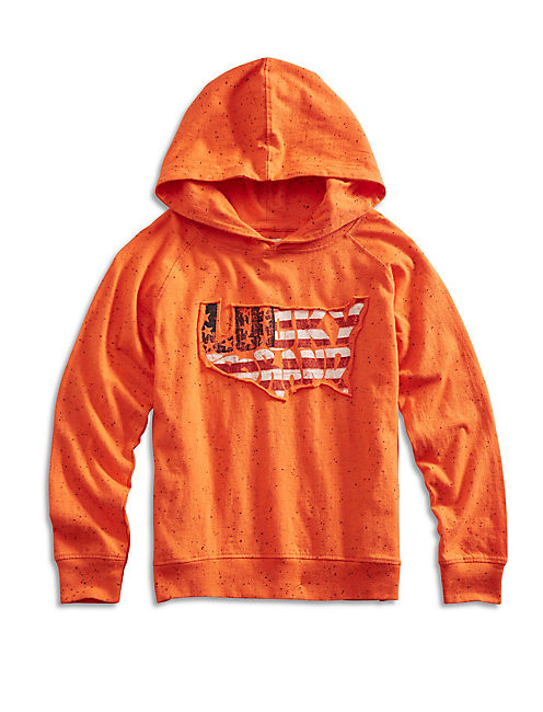 PREMIUM HOODY, MEDIUM ORANGE