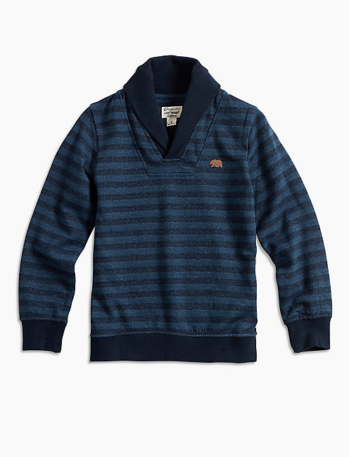 HIDDEN STRIPE PULL OVER,