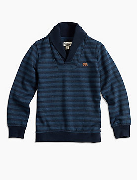 HIDDEN STRIPE PULL OVER