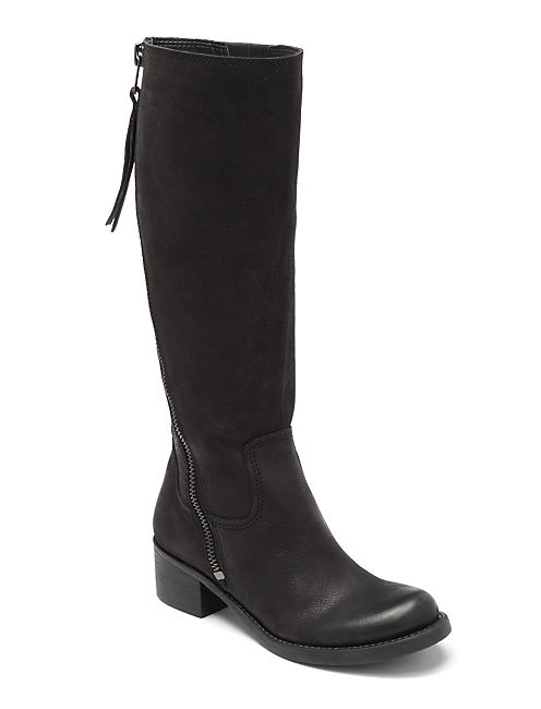 HACKETT ZIP BOOTS, FEATHER