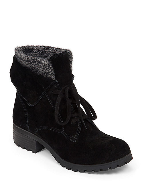 HUNTRESS BOOTIE, BLACK