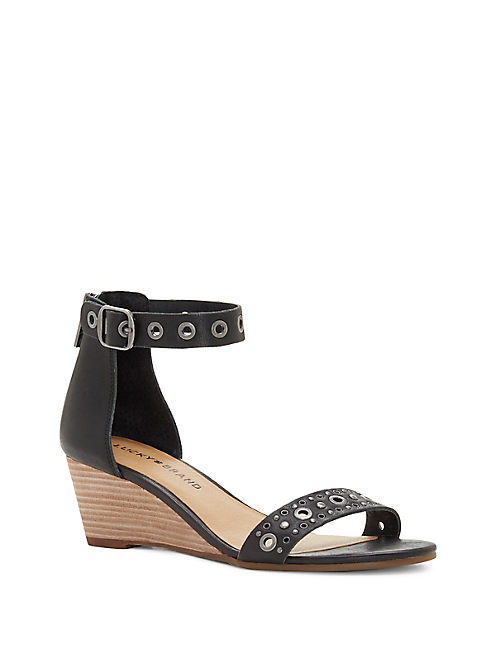 JOREY WEDGE, BLACK