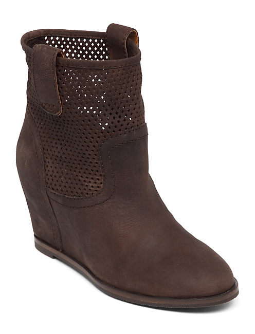 KENO WEDGE BOOTIE, TOBACCO