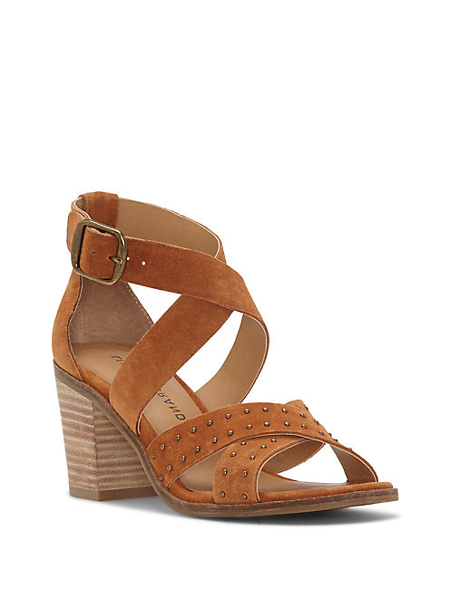 KESEY HEEL, MEDIUM BROWN