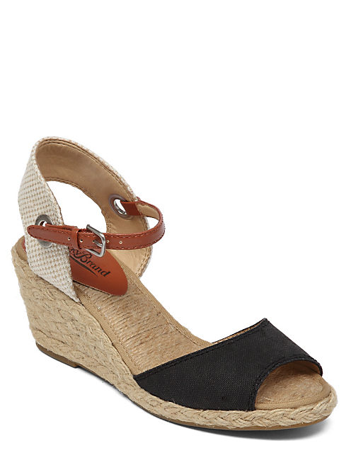 KYNDRA WEDGE, BLACK