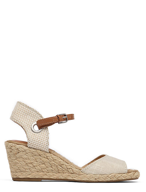 KYNDRA WEDGE, MEDIUM LIGHT BEIGE
