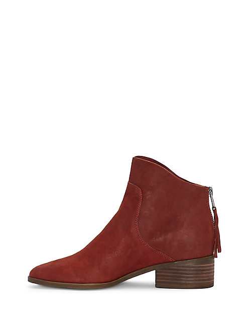 LAHELA BOOTIE, OPEN BROWN/RUST