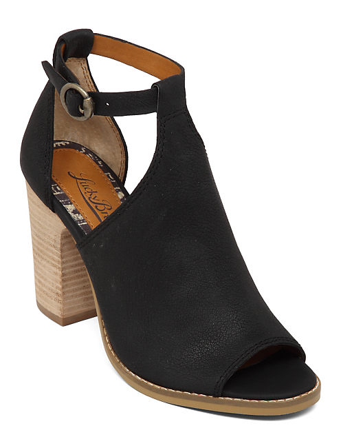 LANNE HIGH HEEL SANDAL, BLACK
