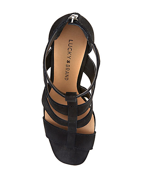 LATEERA WEDGE, BLACK
