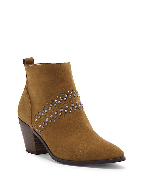 LATINIA BOOTIE, MEDIUM DARK BROWN