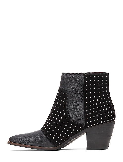 LEEIR STUDDED BOOTIE, BLACK