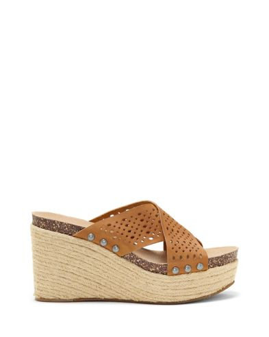 Lucky Neeka Perforated Wedge