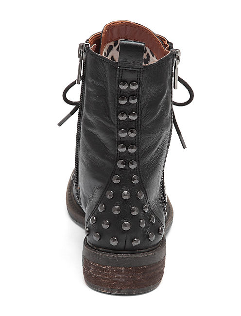 NOLAN STUDDED BOOTIES, FEATHER