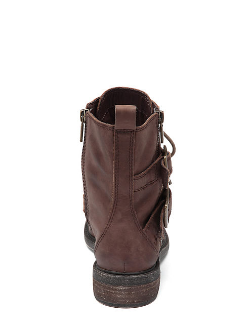 NOLAN BOOTIES, DARK BROWN