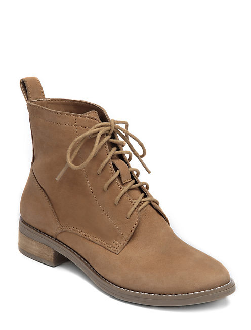 NORWOOD BOOTIES, OPEN BROWN/RUST