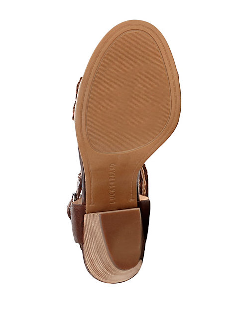 OAKES HEEL, RUST BROWN