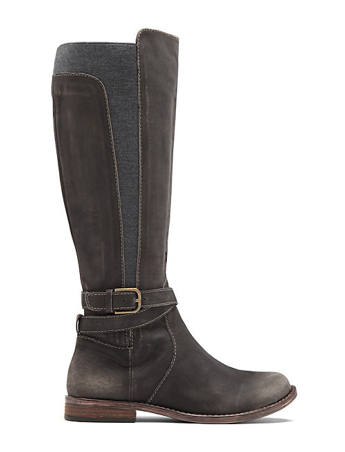 OSTRAND RIDING BOOT, OPEN BROWN/RUST