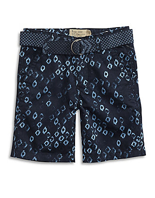 LUCKY SHAPED PATTERN SHORT