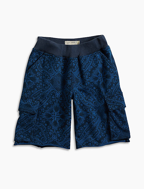 SWELL CARGO SHORT, DARK BLUE